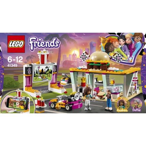 LEGO 41349 フレンズ ハートレイクグランプリ ハンバーガーショップ おもちゃ こども 子供 レゴ ブロック 6歳