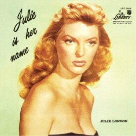 ジュリー・ロンドン/彼女の名はジュリー Vol.1 (初回限定) 【CD】