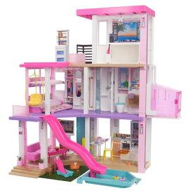 バービー ドリームハウス ライトとサウンドでたのしむ プールとエレベーターつきのおうちおもちゃ こども 子供 女の子 人形遊び ハウス 3歳