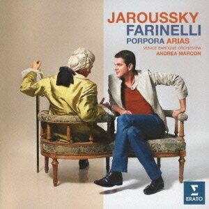 フィリップ・ジャルスキー/ポルポラによるファリネッリのためのアリア集 【CD】