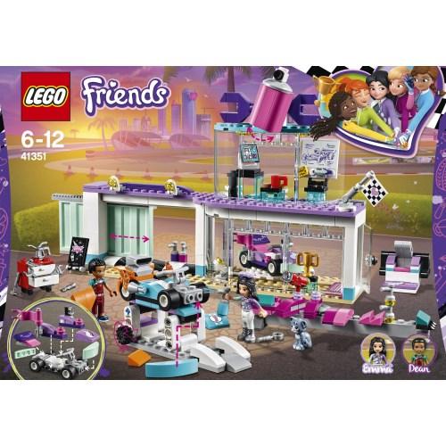 LEGO 41351 フレンズ ハートレイクグランプリ デコレーションショップ おもちゃ こども 子供 レゴ ブロック 6歳