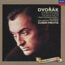 ズービン・メータ/ドヴォルザーク:交響曲第8番・第9番「新世界より」 (初回限定) 【CD】
