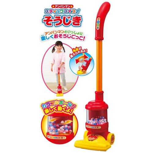 アンパンマン スティックスイスイそうじき おもちゃ 3歳〜 ままごと おそうじ