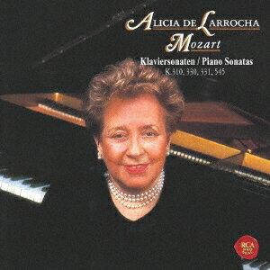 アリシア・デ・ラローチャ/モーツァルト:ピアノ・ソナタ第8番、第10番 第11番「トルコ行進曲付き」&第15番 (期間限定) 【CD】