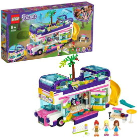 LEGO レゴ フレンズのうきうきハッピー・バス 41395おもちゃ こども 子供 レゴ ブロック 8歳