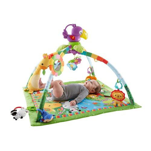 【送料無料】フィッシャープライス レインフォレスト デラックスジム II おもちゃ こども 子供 知育 勉強 ベビー 0歳