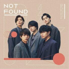 Sexy Zone/NOT FOUND《通常盤》 【CD】