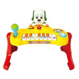 いっしょにコンサート♪マイクもたいこも!ミュージックキーボードおもちゃ こども 子供 知育 勉強 1歳6ヶ月 いないいないばあっ!