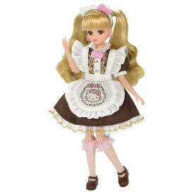 リカちゃん ハローキティ スイーツカフェ ドレスセットおもちゃ こども 子供 女の子 人形遊び 3歳
