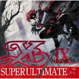 (ゲーム・ミュージック)/YsIX SUPER ULTIMATE 【CD】