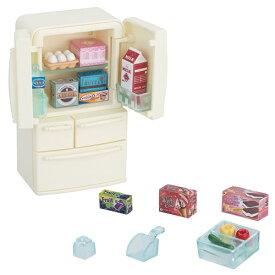 シルバニアファミリー カー422 冷蔵庫セット(5ドア) おもちゃ こども 子供 女の子 人形遊び 家具 3歳