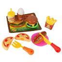 おうちでハンバーガーSHOP おもちゃ こども 子供 女の子 ままごと ごっこ 3歳