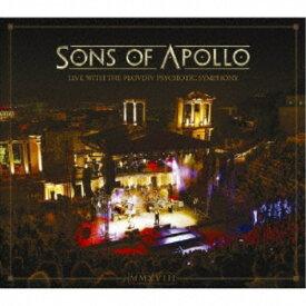 【送料無料】サンズ・オブ・アポロ/ライヴ・ウィズ・ザ・プロヴディフ・サイコティック・シンフォニー《完全生産限定盤》 (初回限定) 【CD+DVD】