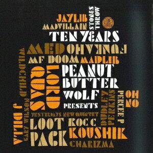 DJ MITSU THE BEATS/STONES THROW 10YEARS MIXED BY DJ MITSU THE BEATS 【CD】