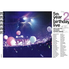 乃木坂46/乃木坂46 5th YEAR BIRTHDAY LIVE 2017.2.20-22 SAITAMA SUPER ARENA Day2 【DVD】