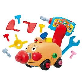 くみたてDIY とびだせノーズパンチ!ねじねじアンパンマンごうおもちゃ こども 子供 知育 勉強 3歳