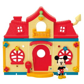 DH-01 ディズニーキャラクター DIYTOWN ミッキーのおうちおもちゃ こども 子供 女の子 人形遊び ハウス 5歳 ミッキーマウス