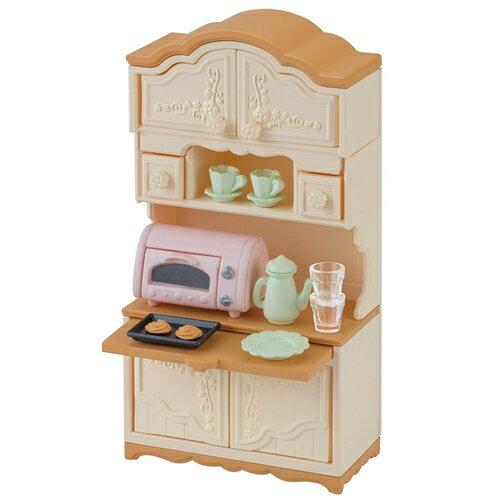 シルバニアファミリー カー419 食器棚・トースターセット