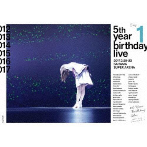 乃木坂46/乃木坂46 5th YEAR BIRTHDAY LIVE 2017.2.20-22 SAITAMA SUPER ARENA Day1 【Blu-ray】