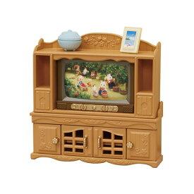 シルバニアファミリー カ-522 テレビ・テレビ台セット おもちゃ こども 子供 女の子 人形遊び 家具 3歳