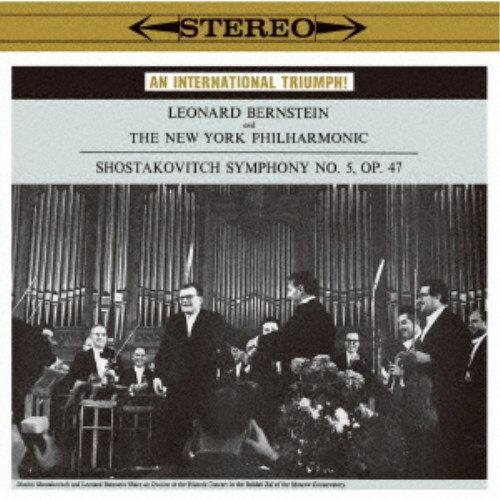 レナード・バーンスタイン/ショスタコーヴィチ:交響曲第5番(1959年録音) コープランド:ビリー・ザ・キッド《完全生産限定盤》 (初回限定) 【CD】