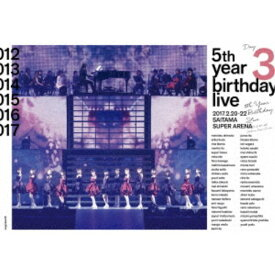 乃木坂46/乃木坂46 5th YEAR BIRTHDAY LIVE 2017.2.20-22 SAITAMA SUPER ARENA Day3 【Blu-ray】