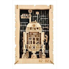 スター・ウォーズ PT-WL04 R2-D2 (TM) ペーパーシアター ウッドスタイルおもちゃ こども 子供 工作