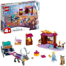 レゴ LEGO アナと雪の女王2'エルサのワゴン・アドベンチャー' 41166おもちゃ こども 子供 レゴ ブロック 4歳