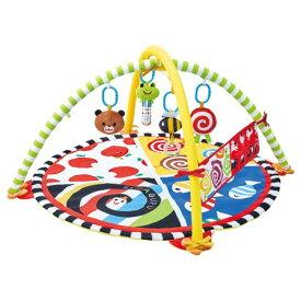 わらう!なきやむ!しましまぐるぐる 遊んで成長やわらかカラフルジムおもちゃ こども 子供 知育 勉強 ベビー 0歳