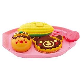 ぽぽちゃんのおしゃべりたこ焼きセットおもちゃ こども 子供 女の子 人形遊び 小物 2歳