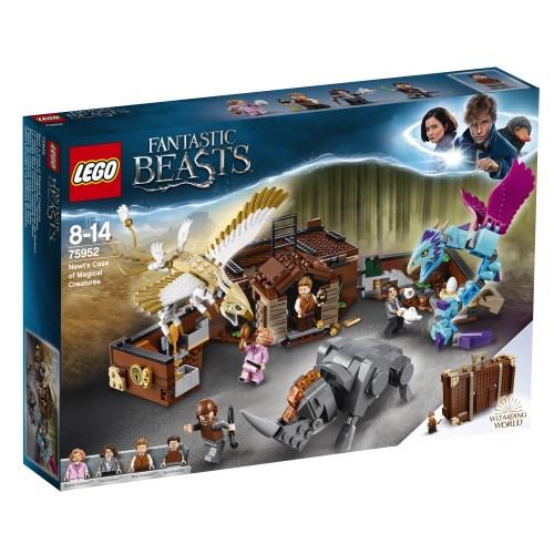 【送料無料】LEGO 75952 ハリー・ポッター ニュートの魔法動物アドベンチャー