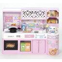 リカちゃん LF-06 おしゃべりいっぱいリカちゃんキッチン おもちゃ こども 子供 女の子 人形遊び 家具