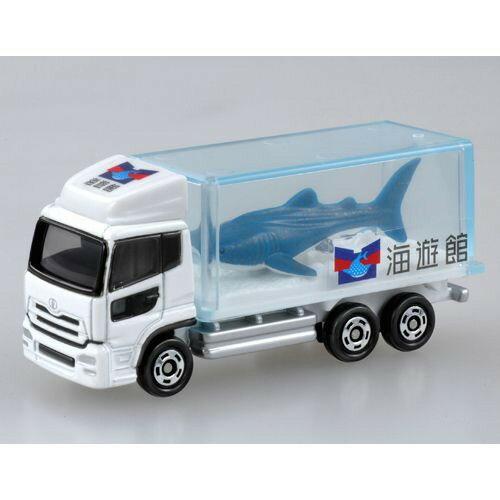 トミカ 069 水族館トラック(サメ) おもちゃ こども 子供 男の子 ミニカー 車 くるま 3歳