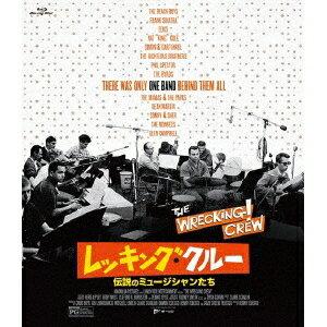 ブライアン・ウィルソン/レッキング・クルー 〜伝説のミュージシャンたち〜 【Blu-ray】
