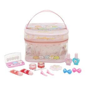 ●ラッピング指定可●すみっコぐらし ビニールバニティメイクバッグ ピンク クリスマスプレゼント おもちゃ こども 子供 女の子 メイク セット 6歳