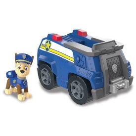 パウ・パトロール ベーシックビークル(フィギュア付き) チェイス ポリスカーおもちゃ こども 子供 男の子 ミニカー 車 くるま 3歳