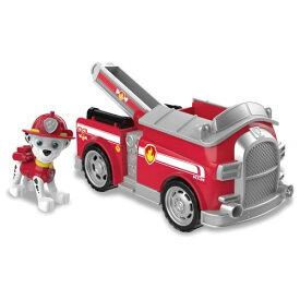 パウ・パトロール ベーシックビークル(フィギュア付き) マーシャル ファイヤートラックおもちゃ こども 子供 男の子 ミニカー 車 くるま 3歳