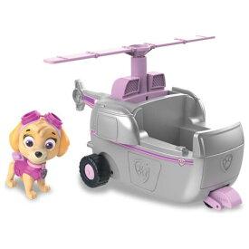パウ・パトロール ベーシックビークル(フィギュア付き) スカイ フライングヘリおもちゃ こども 子供 男の子 ミニカー 車 くるま 3歳