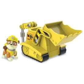 パウ・パトロール ベーシックビークル(フィギュア付き) ラブル パワーブルドーザ-おもちゃ こども 子供 男の子 ミニカー 車 くるま 3歳