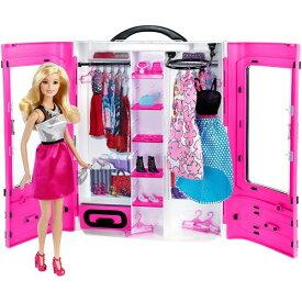 ラッピング対応可◆バービーとピンクなクローゼット クリスマスプレゼント おもちゃ こども 子供 女の子 人形遊び 小物 3歳