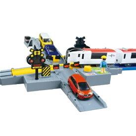プラレール J-20 オート踏切 (トミカ対応) おもちゃ こども 子供 男の子 電車 3歳