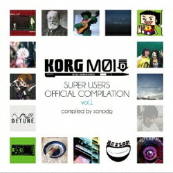sanodg/KORGM01DSuperUsersOfficialCompilationvol.1【CD】