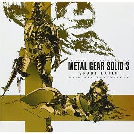 (ゲーム・ミュージック)/METAL GEAR SOLID 3 SNAKE EATER ORIGINAL SOUNDTRACK 【CD】
