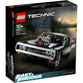 LEGO レゴ テクニック ワイルド・スピード ドムのダッジ・チャージャー 42111おもちゃ こども 子供 知育 勉強 10歳