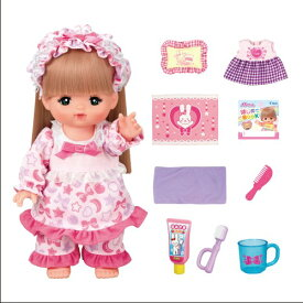 ラッピング対応可◆メルちゃん ロングヘアメルちゃん いっしょにおやすみセット クリスマスプレゼント おもちゃ こども 子供 女の子 人形遊び 3歳