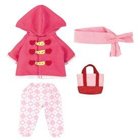 メルちゃん きせかえセット ピンクのダッフルコート おもちゃ こども 子供 女の子 人形遊び 洋服 3歳