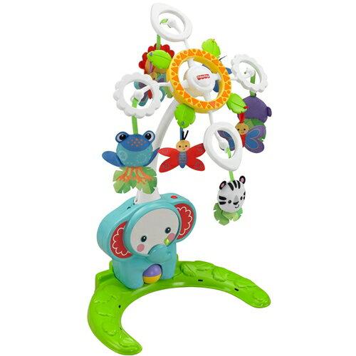 【送料無料】フィッシャープライス レインフォレスト 4WAYごきげんメリー おもちゃ こども 子供 知育 勉強 ベビー 0歳
