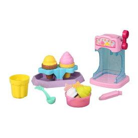 【送料無料】かえちゃOh!! ふしぎなアイス&ソフトクリームやさん おもちゃ こども 子供 女の子 ままごと ごっこ 3歳