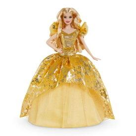 バービー シグネチャー ホリデーバービー2020 GHT54おもちゃ こども 子供 女の子 人形遊び 6歳