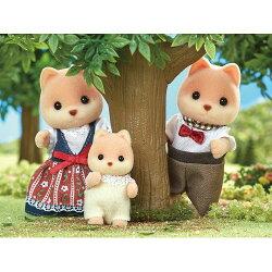 シルバニアファミリーFS-35キャラメルイヌファミリーおもちゃこども子供女の子人形遊び3歳